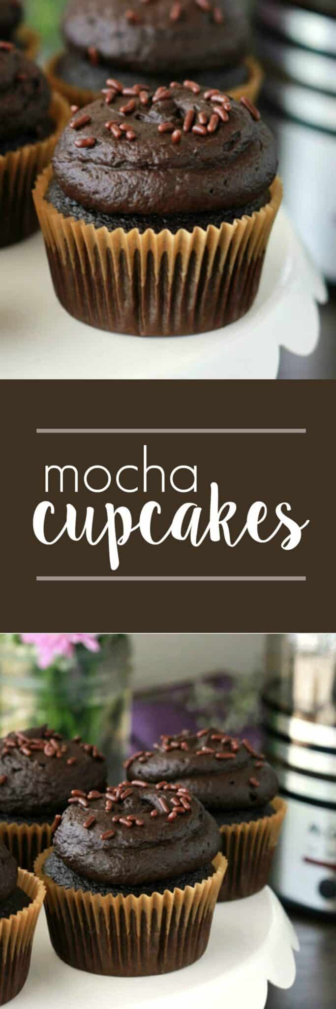 Mocha Cupcakes on One Sweet Appetite