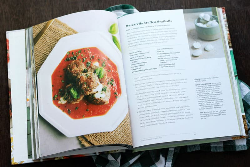 Mozzarella Stuffed Meatball Recipe