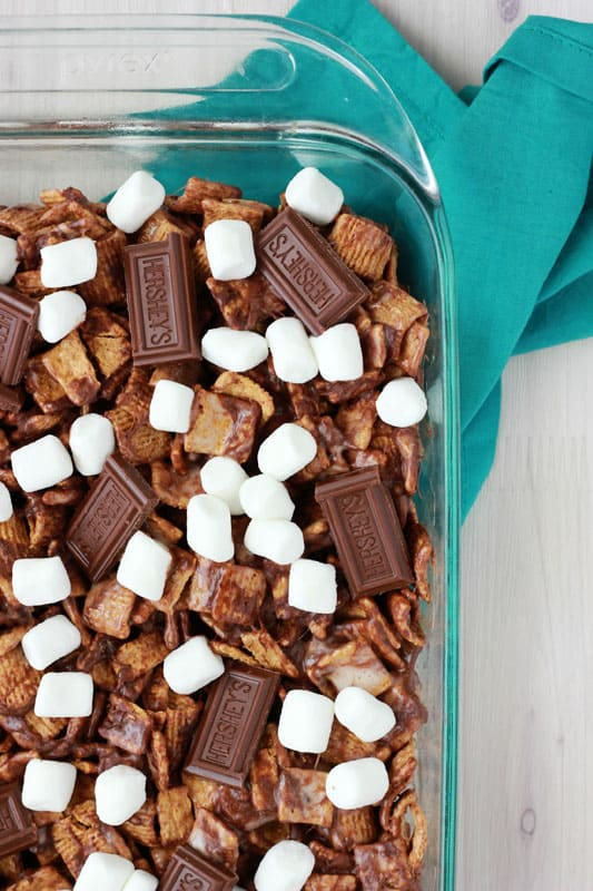 S'more Cereal Treats on One Sweet Appetite