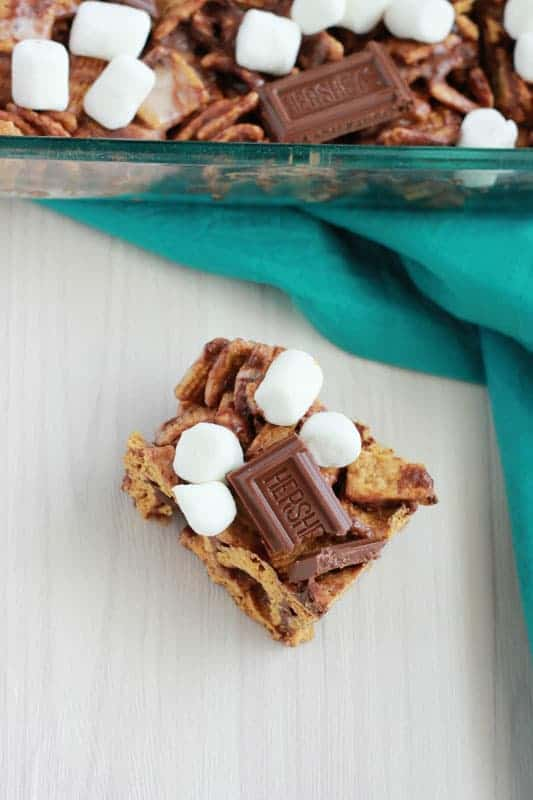 Smore Cereal Treats