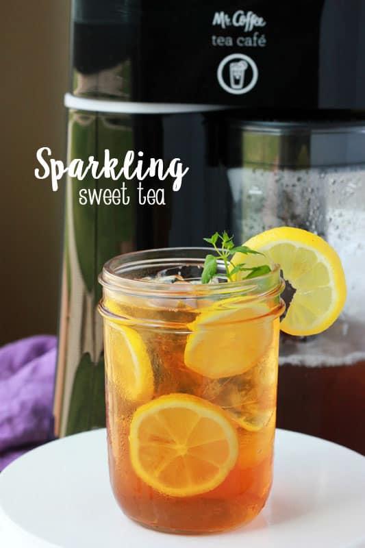 Sparkling Sweet Tea