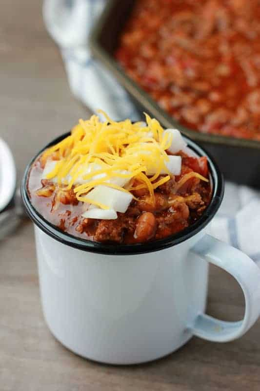 Baked Bean Chili Recipe
