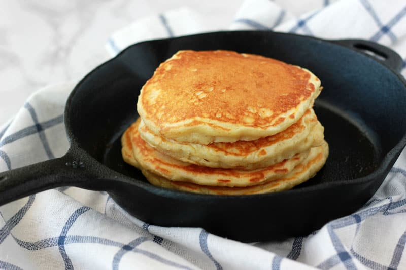 Buttermilk Pancake Recipe on One Sweet Appetite