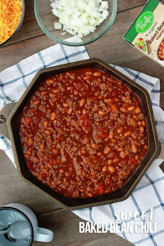 Camping Baked Bean Chili