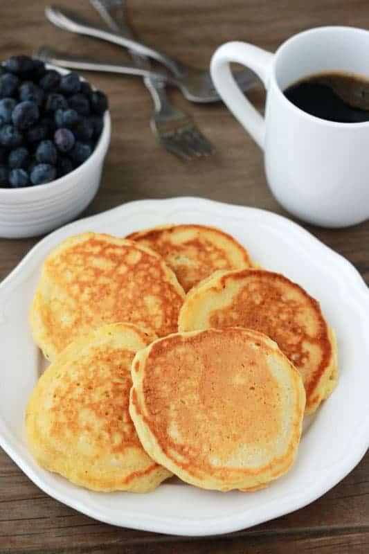 Cornmeal Pancake recipe
