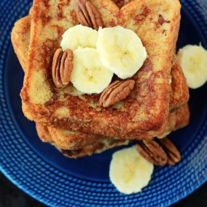 Sweet Banana French Toast