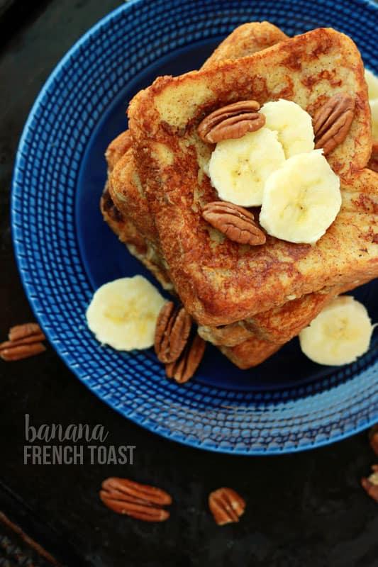 Easy Banana French Toast