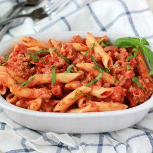 Tomato Basil Penne