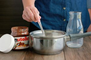 Nutella Hot Chocolate on One Sweet Appetite