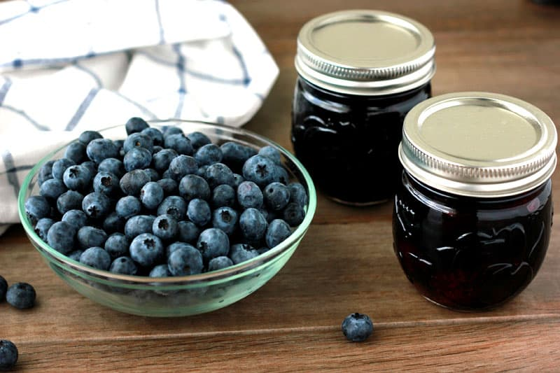 Blueberry Jam on One Sweet Appetite