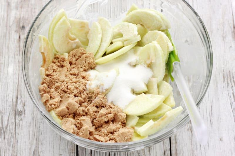 Caramel Apple Pie Ingredients