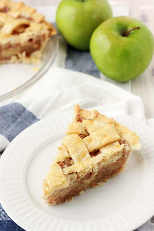 Easy Caramel Apple Pie