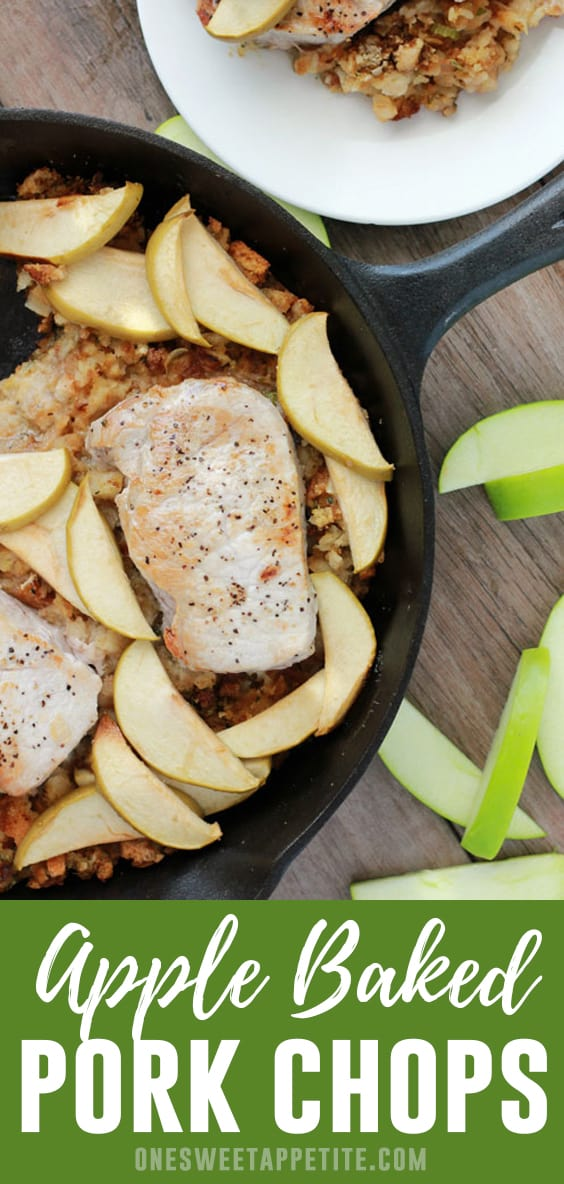 Sweet and savory combine to create this delicious weeknight meal! Apple Baked Pork Chops are a fall flavor combination you will love!