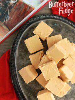 Two Ingredient Butterbeer Fudge