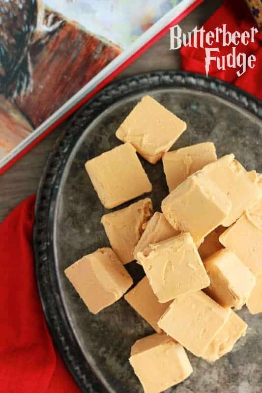 Two Ingredient Butterbeer Fudge