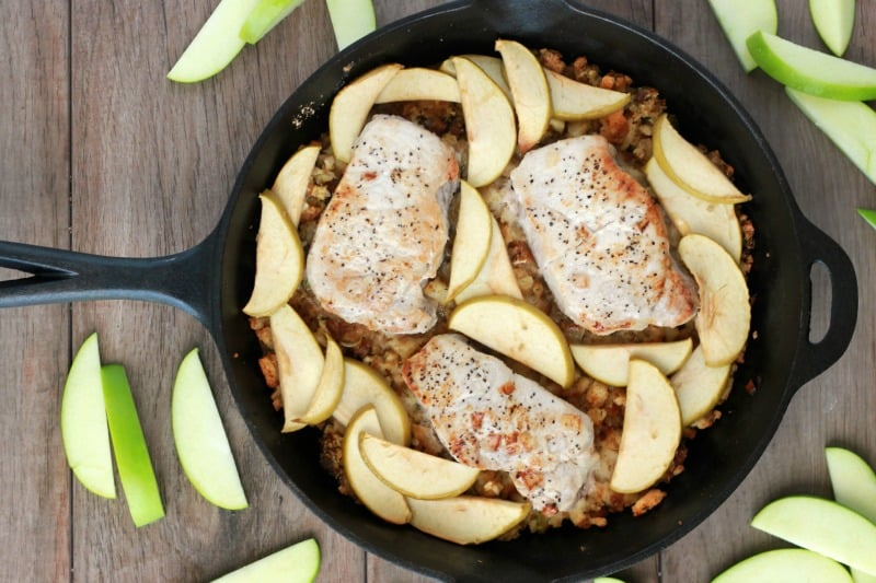 Apple Baked Pork chop recipe
