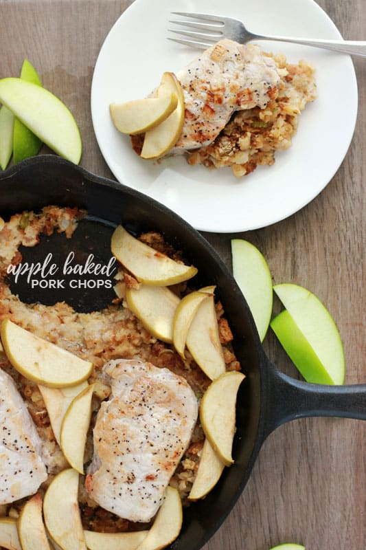 Apple Baked Pork Chops