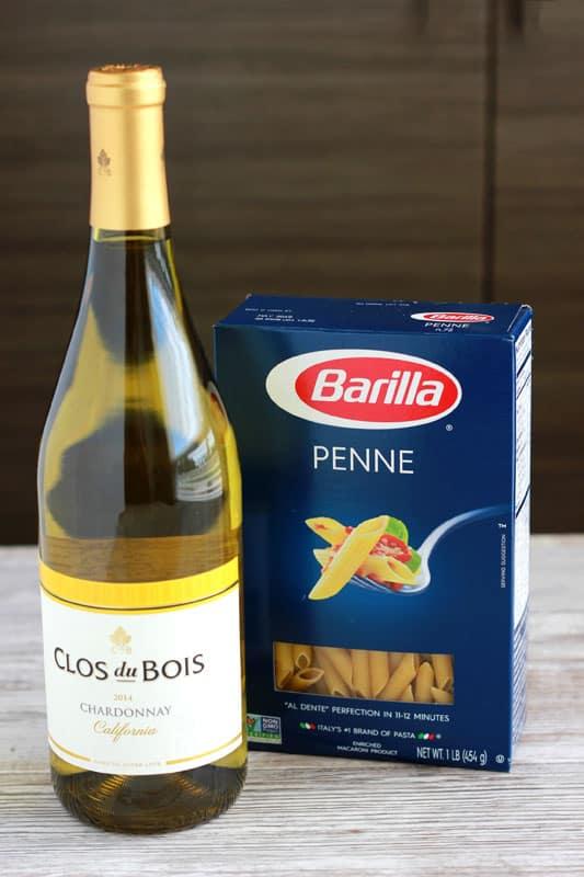 White Wine and Pasta