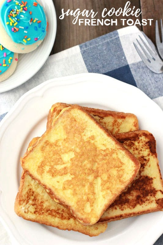 Sugar Cookie French Toast