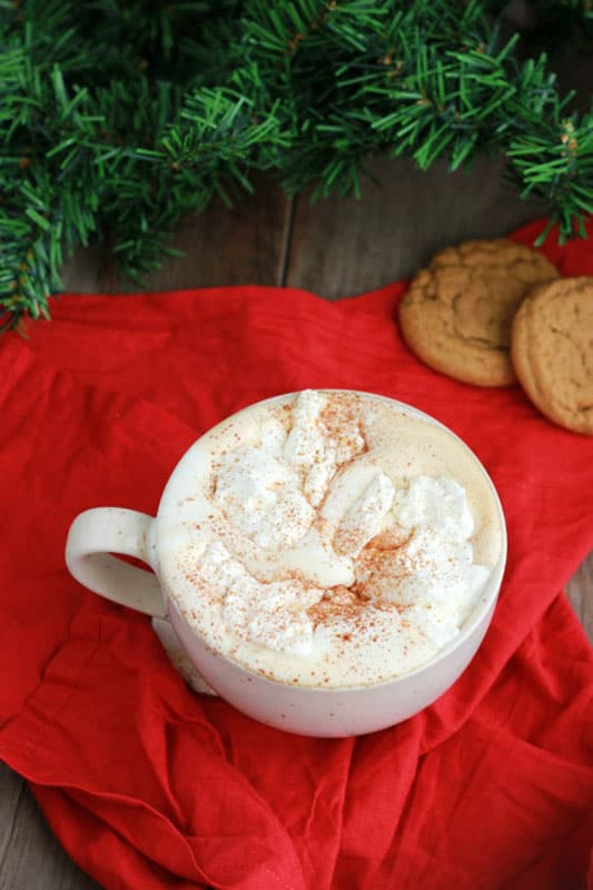 Easy Gingerbread Latte