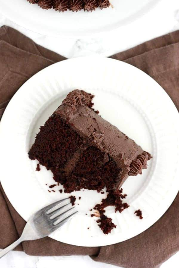 Best Ever Chocolate Cake on One Sweet Appetite