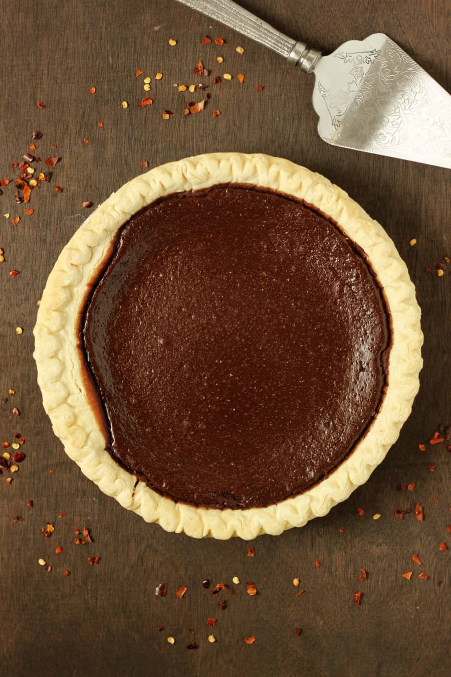 Mexican Chocolate Pie Recipe