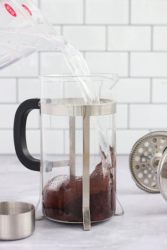 Easy Cold Brew with French Press