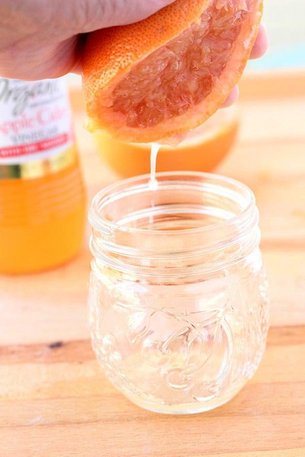Grapefruit + Apple Cider Vinegar - One Sweet Appetite
