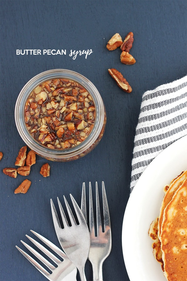 Butter Pecan Syrup