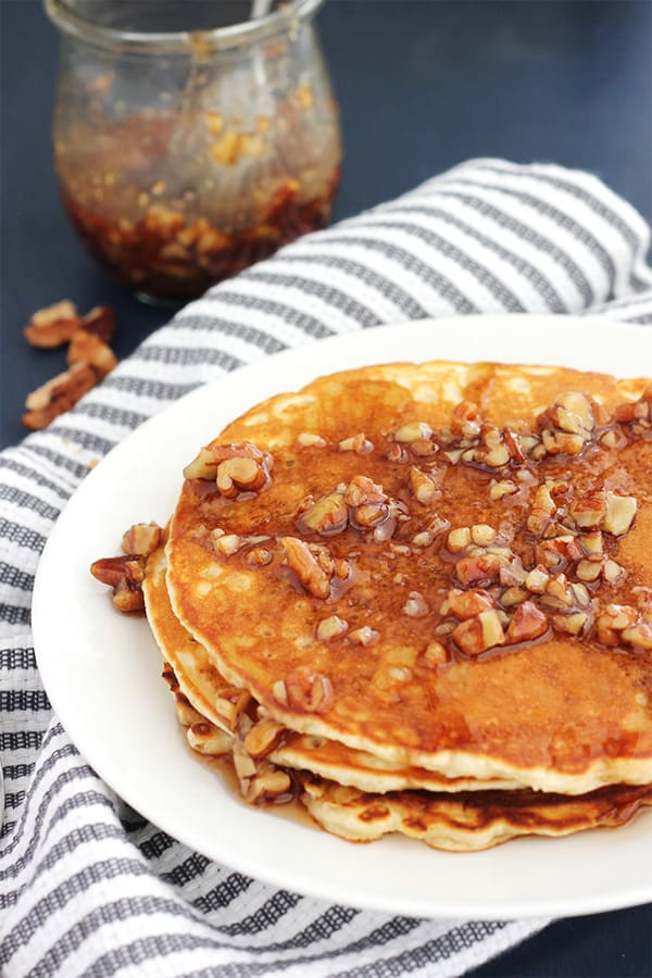 Easy Butter Pecan Syrup Recipe