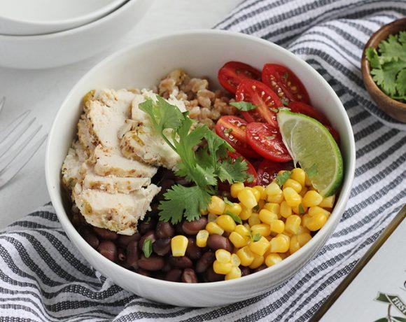 farro burrito bowls