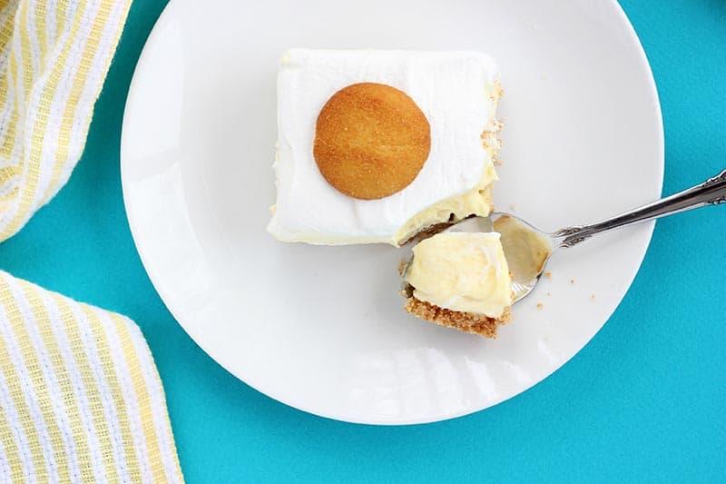 Easy Banana Cream Pie Bars