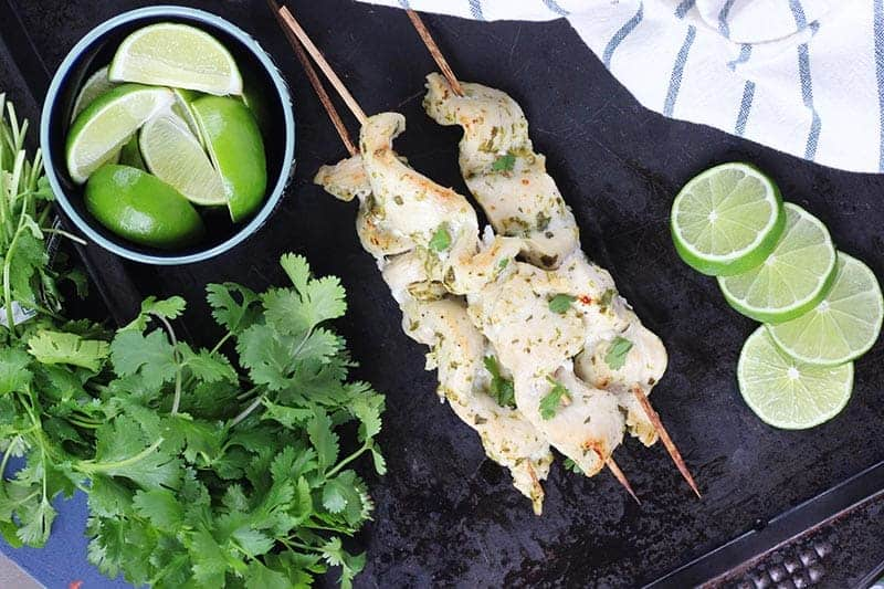 Chicken Skewer Appetizer3w