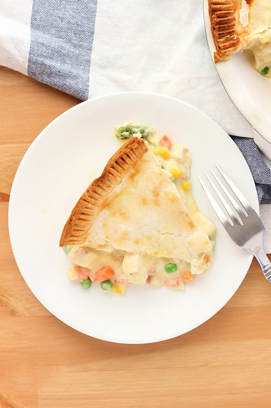Homemade pot pie recipe