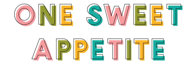 One Sweet Appetite logo