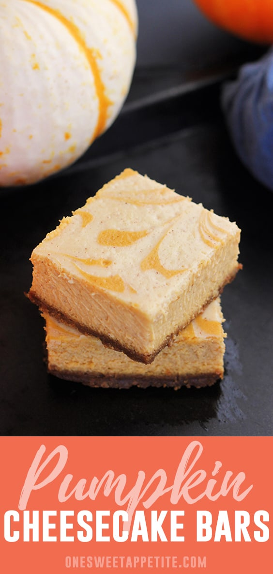 Pumpkin Cheesecake Bars. Pumpkin puree and cream cheese combine on a gingersnap cracker crust giving you the perfect fall dessert recipe!