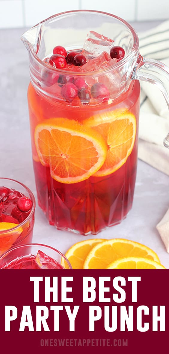 The BEST Party Punch Recipe