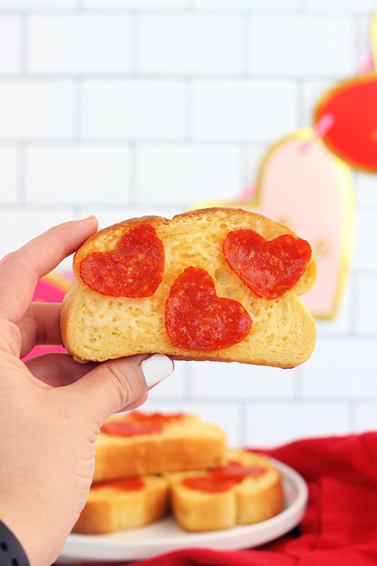 2 Ingredient Pizza Snack