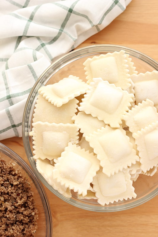 5 Ingredient Ravioli Bake Recipe