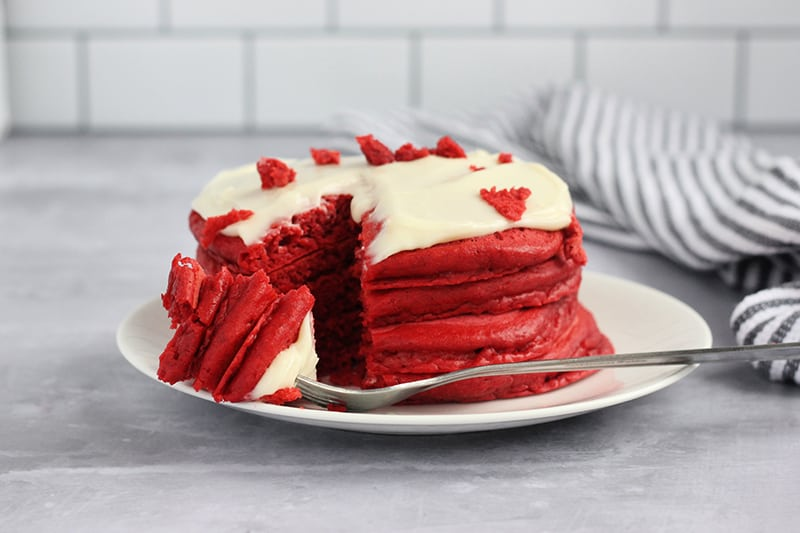 Red Velvet Pancake Recipe
