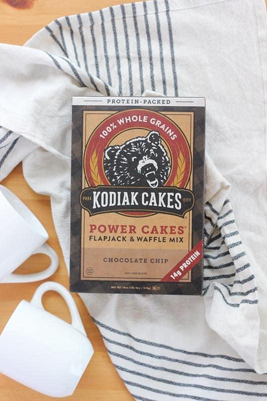Chocolate Chip Mug Muffin with Kodiak Cakes