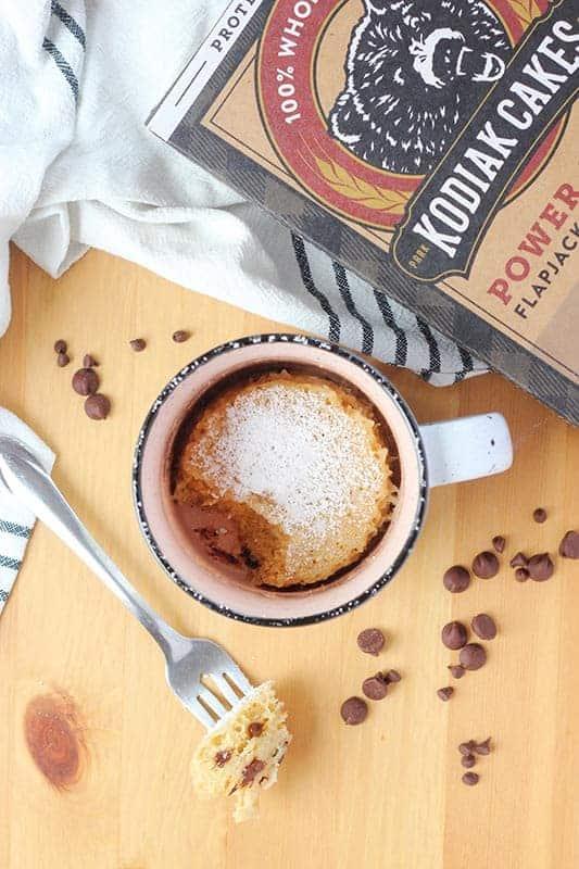 Easy Chocolate Chip Mug Muffin Recipe