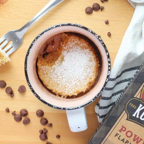 Chocolate Chip Mug Muffin