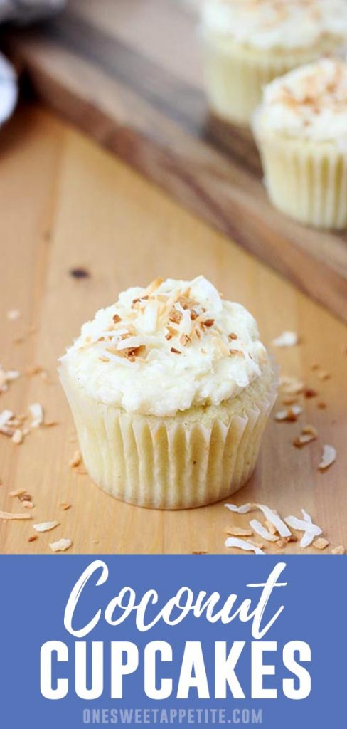 These homemade coconut cupcakes with coconut buttercream are my favorite cupcake. Perfected over years, this recipe is a family favorite and the most requested! Even coconut naysayers request the recipe!