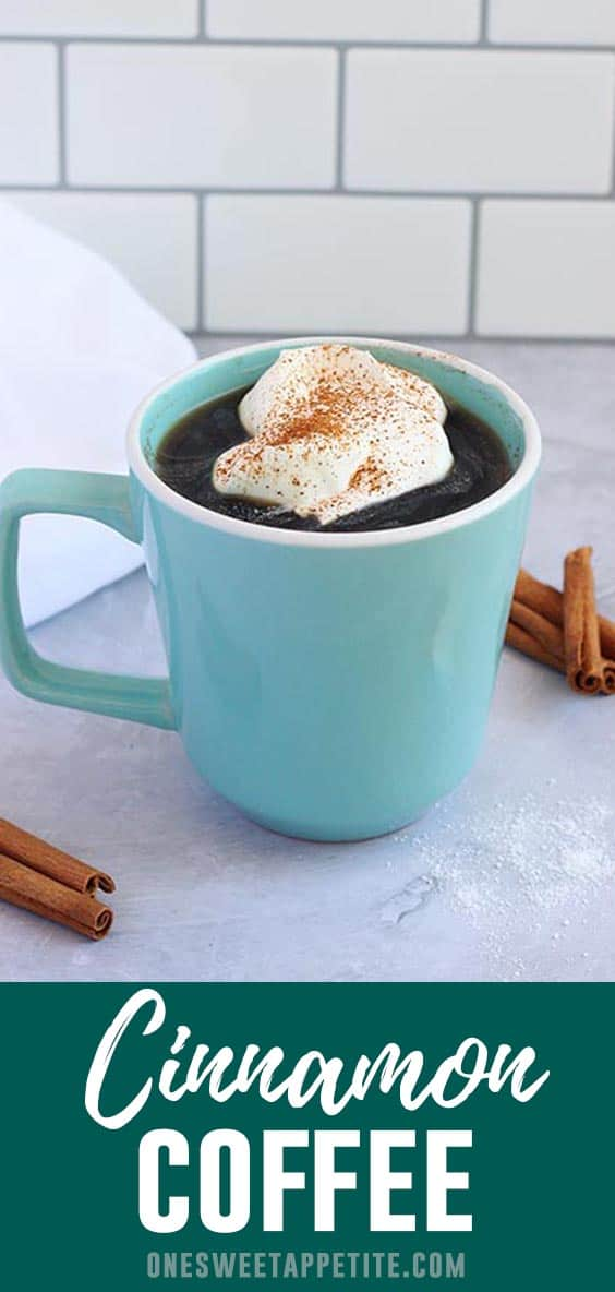 Cinnamon Coffee Recipe. Adding cinnamon to your morning cup of coffee gives it a natural sweetness and added spice flavor. Perfect for a fun and easy twist on the classic cup of Joe.