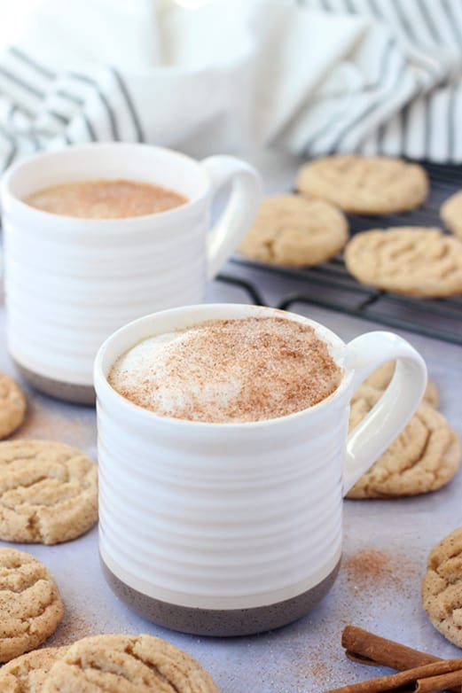 Homemade Snickerdoodle Latte