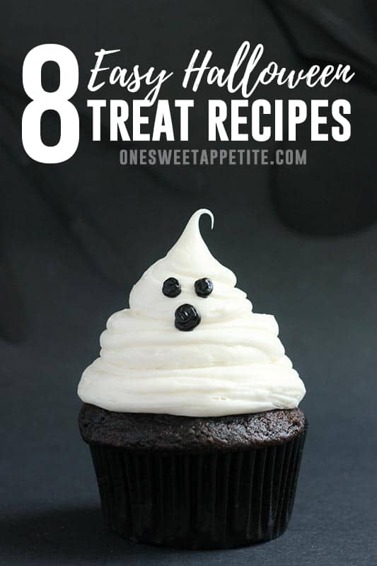 Halloween is just around the corner! Get inspired with these 8 Halloween Treat recipes! Spookily delicious!