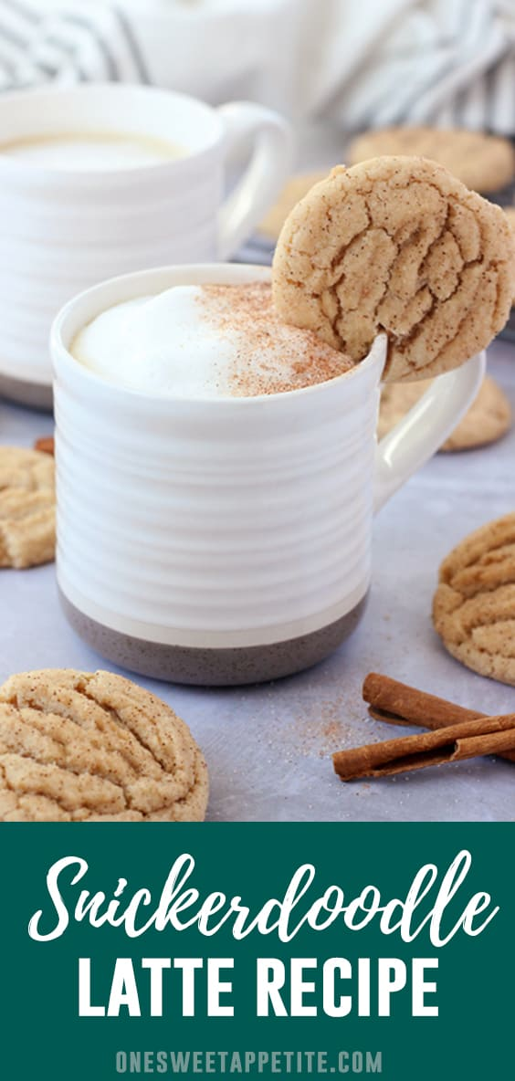 This easy Homemade Snickerdoodle Latte brings the flavor of cookies to your morning cup of coffee! The secret? Cinnamon and nutmeg added straight into the brew.