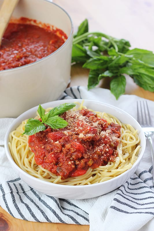 Best Spaghetti with Meat Sauce