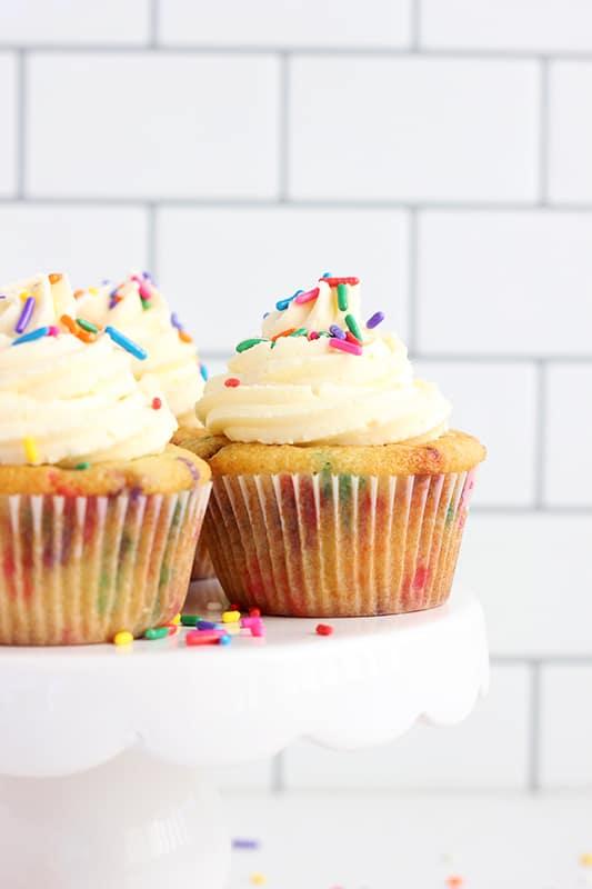 Funfetti Cupcakes from Scratch
